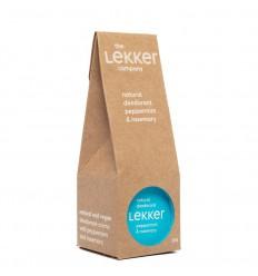 Lekker Company Deodorant pepermunt & rozemarijn 30 ml |