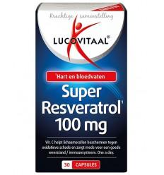 Lucovitaal Super Resveratrol 30 capsules | Superfoodstore.nl