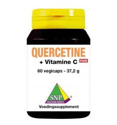 Quercetine SNP Quercetine + gebufferde vitamine C puur 60 vcaps