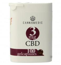 Cannamedic CBD Capsules nr 8 3 mg 100 capsules |