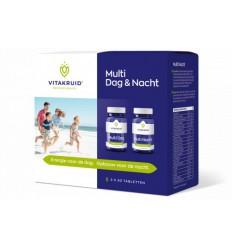 Vitakruid Multivitamine Vitakruid Multi dag & nacht 2 x 30