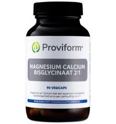 Proviform Magnesium calcium bisglycinaat 2:1 & D3 90 vcaps |