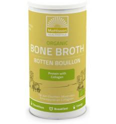 Mattisson organic bone broth bot bou mat | € 16.94 | Superfoodstore.nl