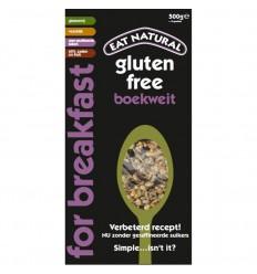 Eat Natural Breakfast boekweit glutenvrij 500 gram |