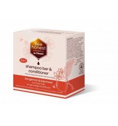 Natuurlijke Shampoo Traay Bee Honest Shampoobar bergamot &
