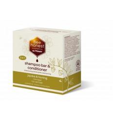 Natuurlijke Shampoo Traay Bee Honest Shampoobar jojoba & honing