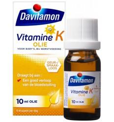 Davitamon Vitamine K olie 10 ml | Superfoodstore.nl