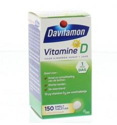 Davitamon D kind smelttablet 150 tabletten | € 14.78 | Superfoodstore.nl