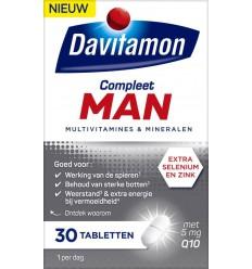 Davitamon Compleet man 30 tabletten | € 13.04 | Superfoodstore.nl