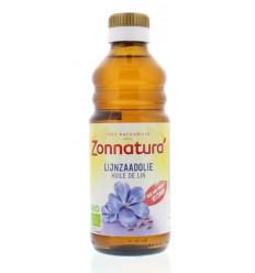 Zonnatura Lijnzaadolie bio 250 ml | Superfoodstore.nl
