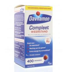 Davitamon Compleet weerstand 400 dragees | € 23.48 | Superfoodstore.nl