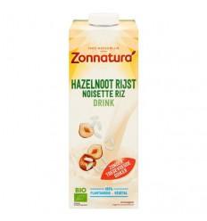 Zonnatura Rijst hazelnoot drink 1 liter | Superfoodstore.nl