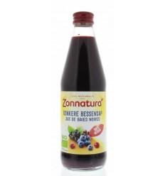 Zonnatura Donkere bessensap bio 330 ml | € 4.19 | Superfoodstore.nl