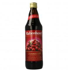 Rabenhorst Cranberrysap puur 750 ml | Superfoodstore.nl