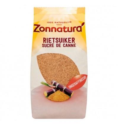 Zonnatura Zonnatura Rietsuiker ruw 750 gram