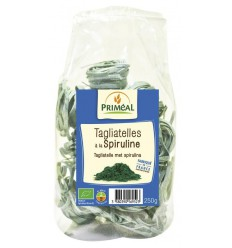 Primeal Tagliatelle spirulina 250 gram   Superfoodstore.nl