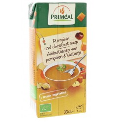 Primeal Veloute soep pompoen kastanje 330 ml | Superfoodstore.nl