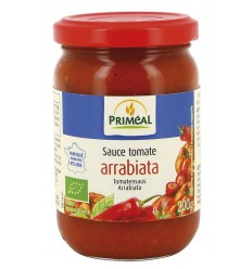 Primeal Tomatensaus arrabiata 200 gram | Superfoodstore.nl