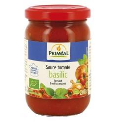 Primeal Tomatensaus basilicum 200 gram | Superfoodstore.nl