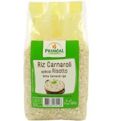 Primeal Witte carnaroli rijst 500 gram | Superfoodstore.nl