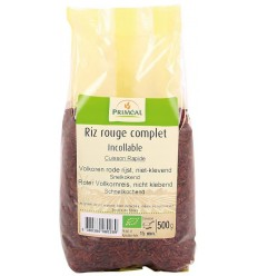Primeal Rijst rood volkoren niet klevend 500 gram |