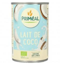 Primeal Kokosmelk 400 ml | Superfoodstore.nl