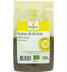 Primeal Lijnzaad bruin 250 gram | Superfoodstore.nl