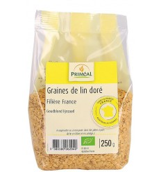 Primeal Lijnzaad goud 250 gram | Superfoodstore.nl