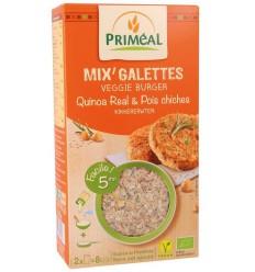 Primeal Quinoa burger kikkererwten 250 gram   Superfoodstore.nl