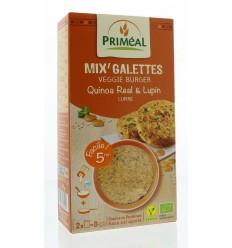 Primeal Quinoa burger quinoa lupine 250 gram   Superfoodstore.nl