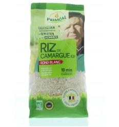 Primeal Witte ronde rijst camargue 500 gram   Superfoodstore.nl