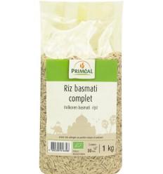 Primeal Volkoren basmati rijst 1 kg | Superfoodstore.nl