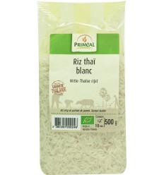 Primeal Witte Thaise rijst 500 gram | Superfoodstore.nl