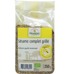 Primeal Volkoren gegrild sesamzaad 250 gram | Superfoodstore.nl