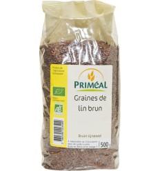 Primeal Lijnzaad bruin 500 gram | Superfoodstore.nl