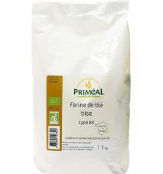 Primeal Grijsbruin tarwemeel borsa 1 kg | Superfoodstore.nl