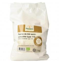 Primeal Tarwemeel volkoren borsa 110 1 kg | Superfoodstore.nl