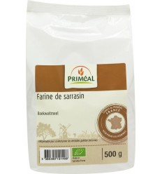 Primeal Boekweitmeel 500 gram | € 2.66 | Superfoodstore.nl