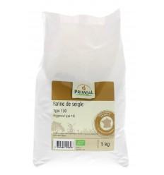 Primeal Roggemeel type 130 1 kg | € 2.94 | Superfoodstore.nl