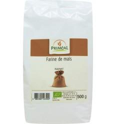 Primeal Maismeel 500 gram   Superfoodstore.nl