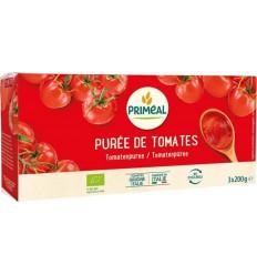Primeal Tomatenpuree 200 gram 3 stuks | Superfoodstore.nl