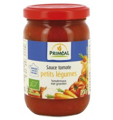Primeal Tomatensaus met groenten 200 gram | Superfoodstore.nl