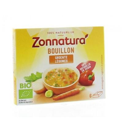 Zonnatura Groentebouillon tablet 11 gram 6 stuks | € 1.21 | Superfoodstore.nl