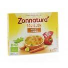 Zonnatura Groentebouillon tablet 11 gram 6 stuks