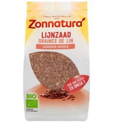 Zonnatura Lijnzaad gebroken 400 gram | Superfoodstore.nl