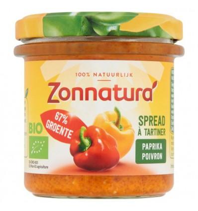 Broodbeleg Zonnatura Groentespread paprika 135 gram kopen