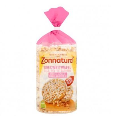 Zonnatura Boekweitwafels met quinoa 100 gram | Superfoodstore.nl