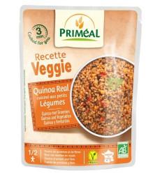 Primeal Recette Veggie Quinoa gekookt met groente 220 gram  