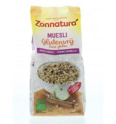 Muesli Zonnatura Muesli appel kaneel glutenvrij 375 gram kopen