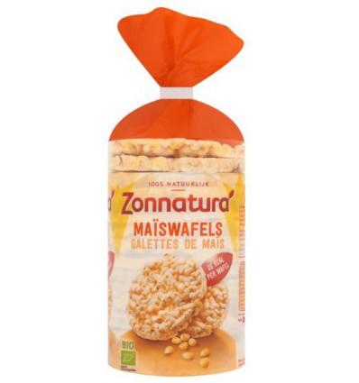 Zonnatura Maiswafels bio 100 gram | Superfoodstore.nl